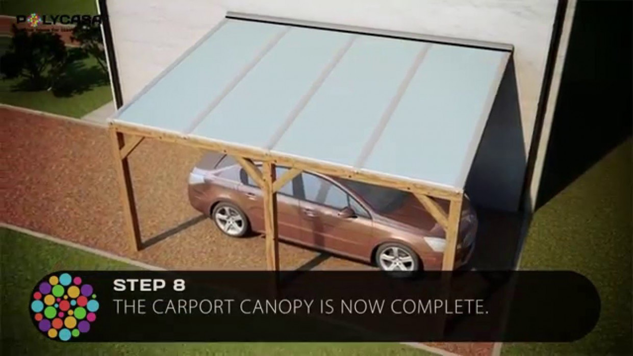 Carport Canopy Installation Guide With Structured Polycarbonate Carport Canopy Nigeria