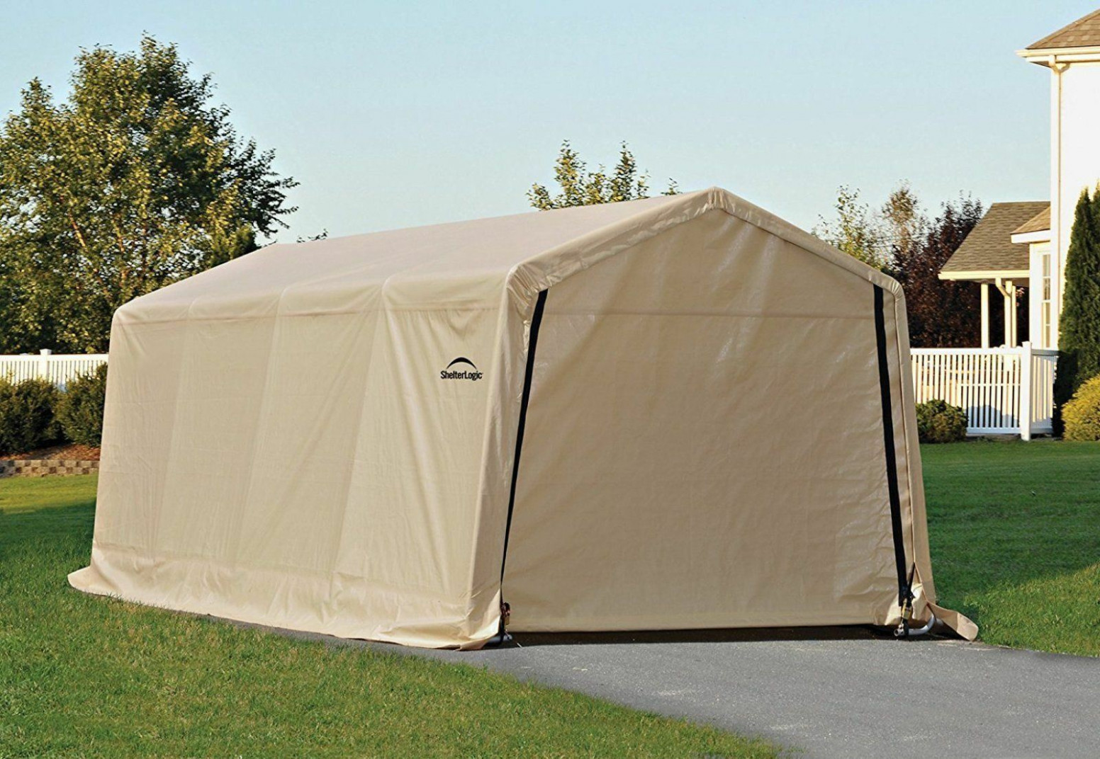 Carport Canopy Shelter Tent Auto Garage Truck Boat Enclosure 7x7 Shed Portable Carport Tent To Buy
