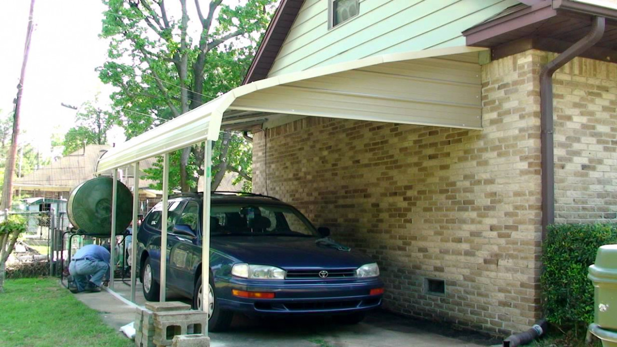 Carport: Carports Attached To House Aluminum Carport Ideas