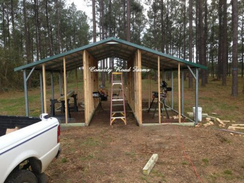 Carport Coops And Barns Starting At $695.... Only 10% Down ..