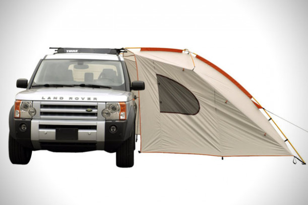 Carport Deluxe Basecamp Shelter By Kelty   HiConsumption Carport Tent Setup