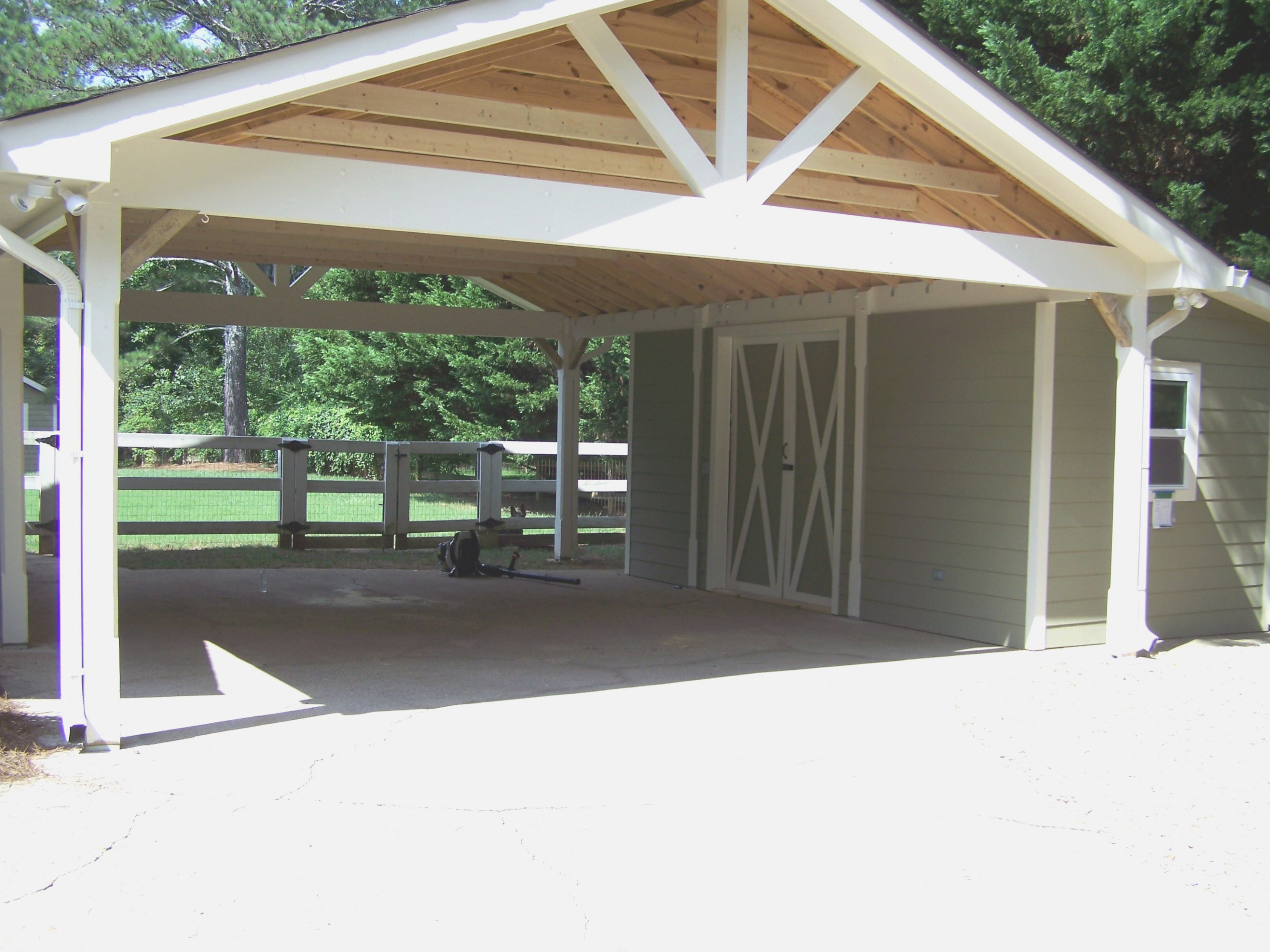 Carport Designs Attached House Outdoor Simple Yet Highly ..