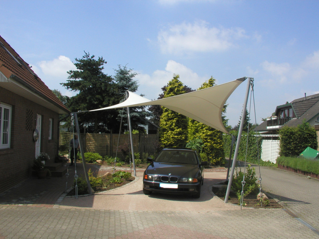 : Carport Elmshorn Terrace, Carport, Garden Fair Parking Carport