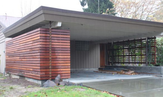 Carport Enclosure/kind Of The Right Idea Could Also Put ..