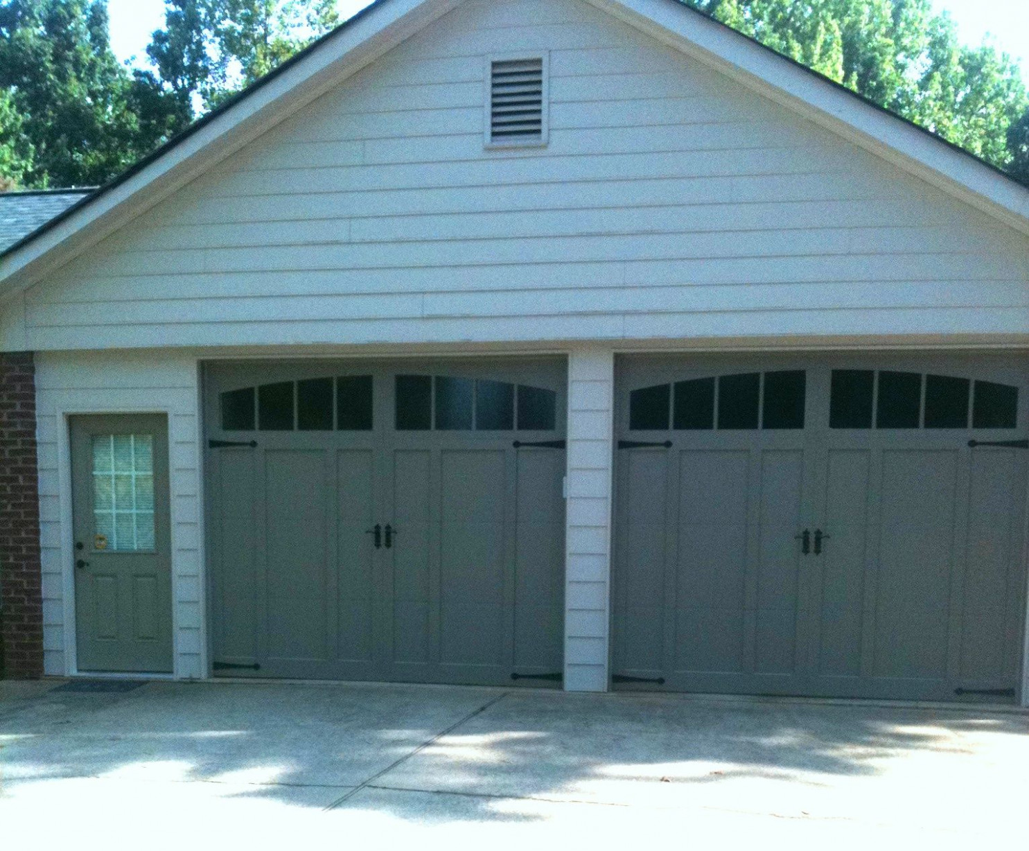Carport Enclosures | carport to garage | Garage door ...
