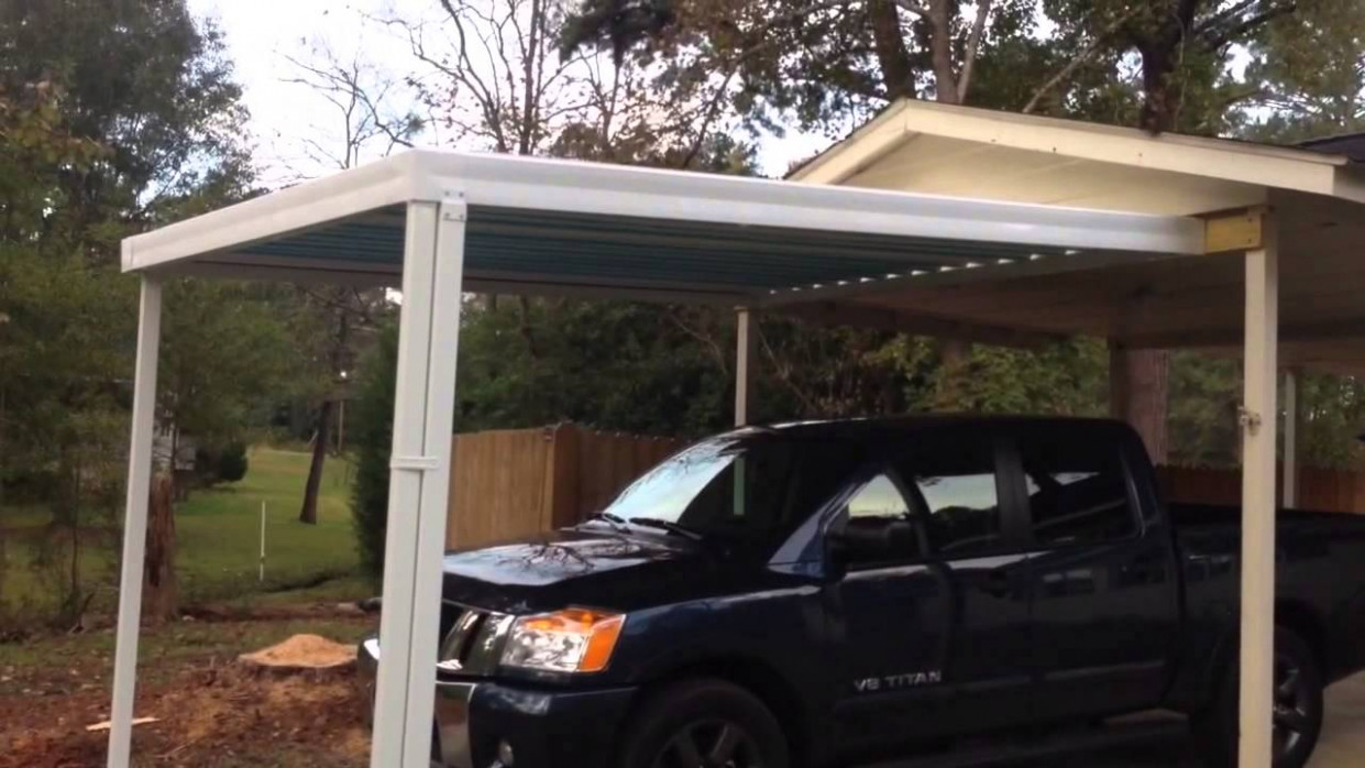 Carport Extension Eagle Carports Roof Pitch