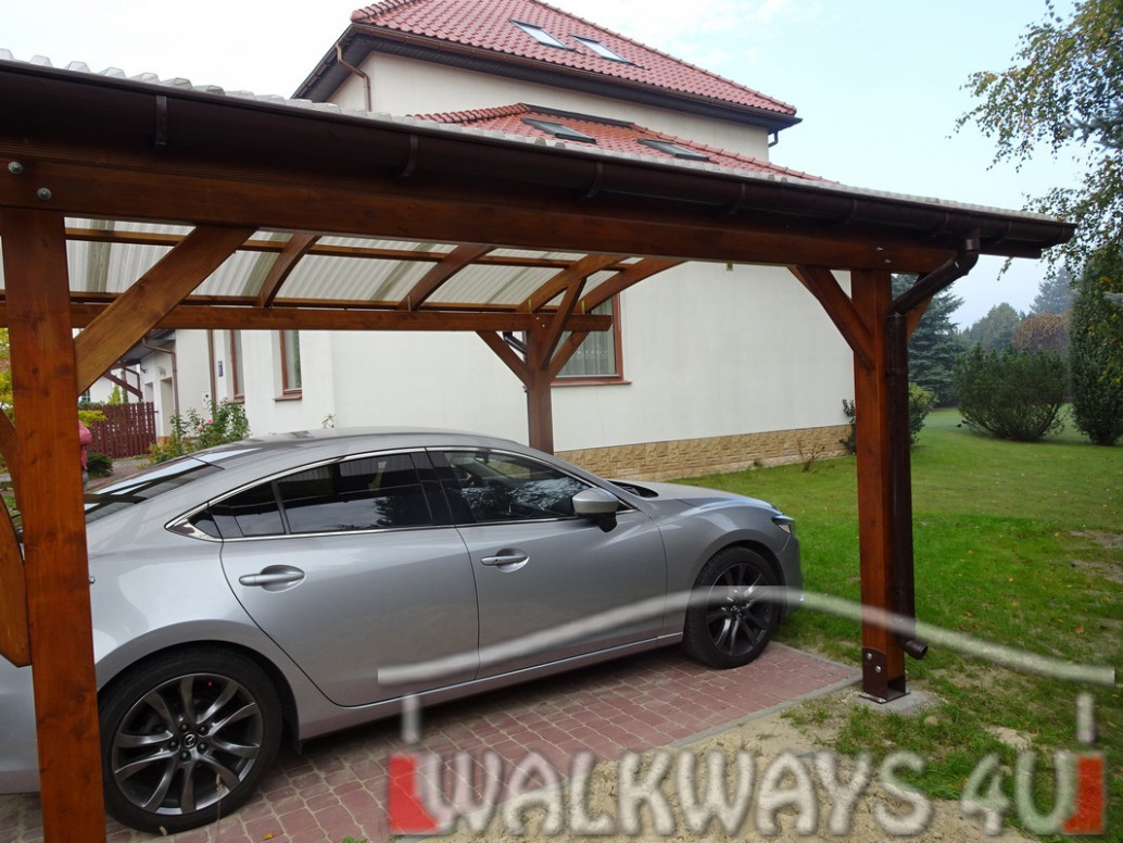 Carport For One Car Model Glasgow 8, Nadarzyn, Poland 2083 ..