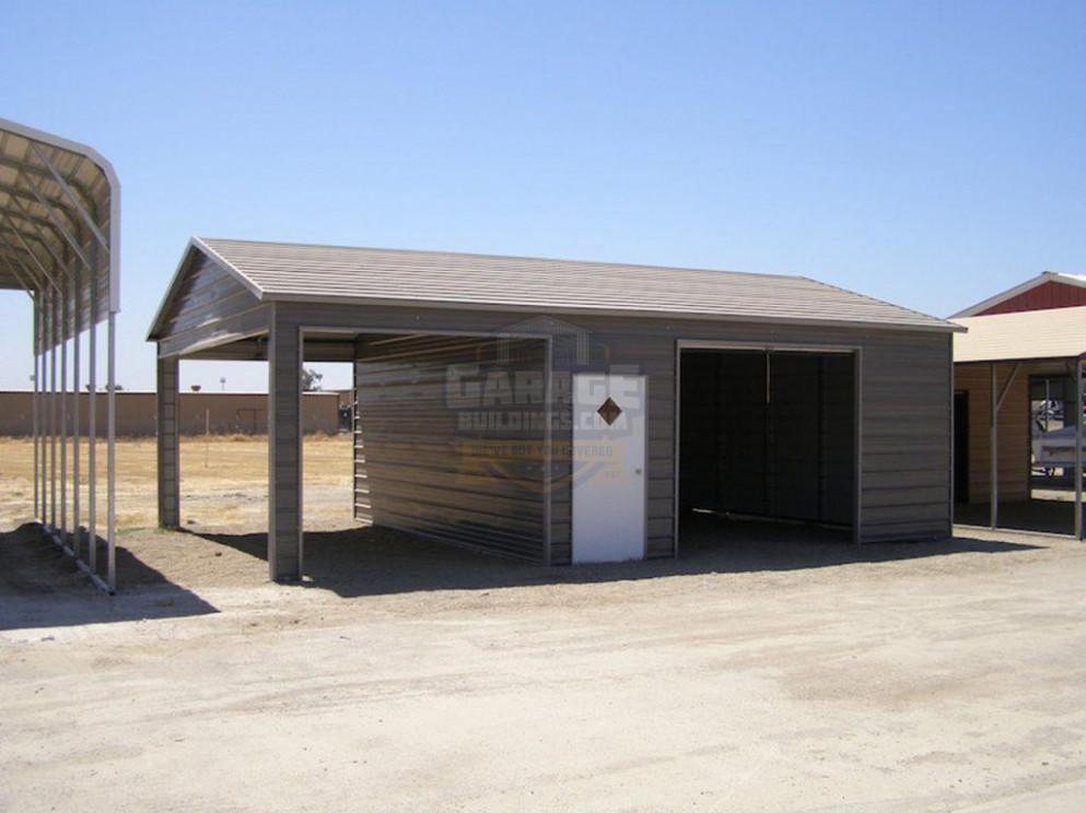 Carport Garage Combo | Combo Metal Buildings At Affordable ..