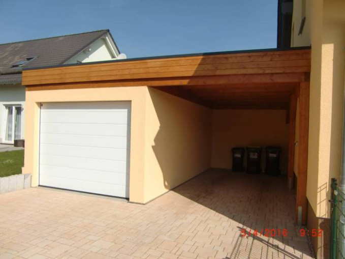 Carport + Garage = die perfekte Kombination