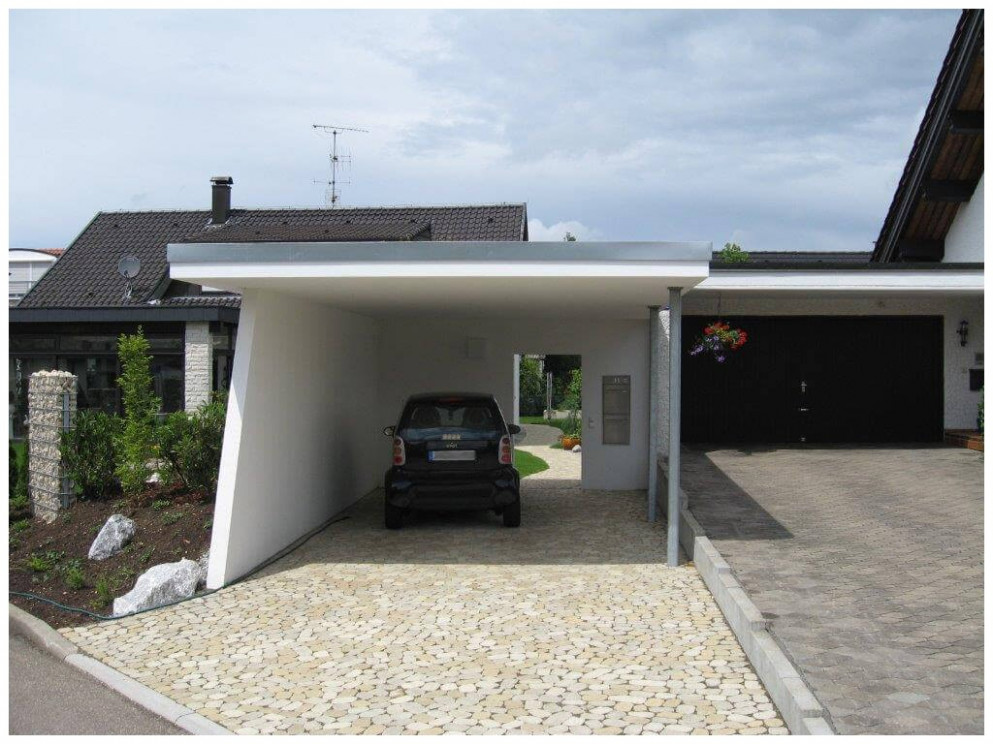 Carport Garage Kombination 10 Beton Carports Von Beton ..