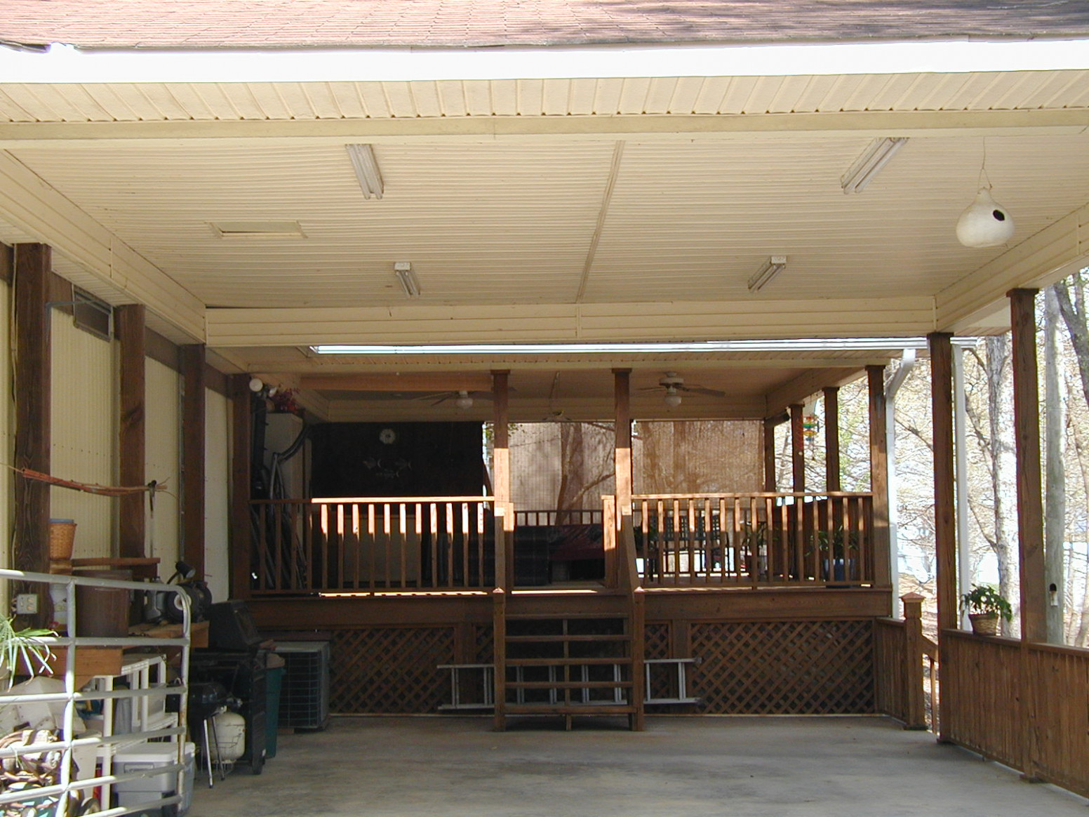 Carport: How To Close In A Carport Carport Roof Span Tables