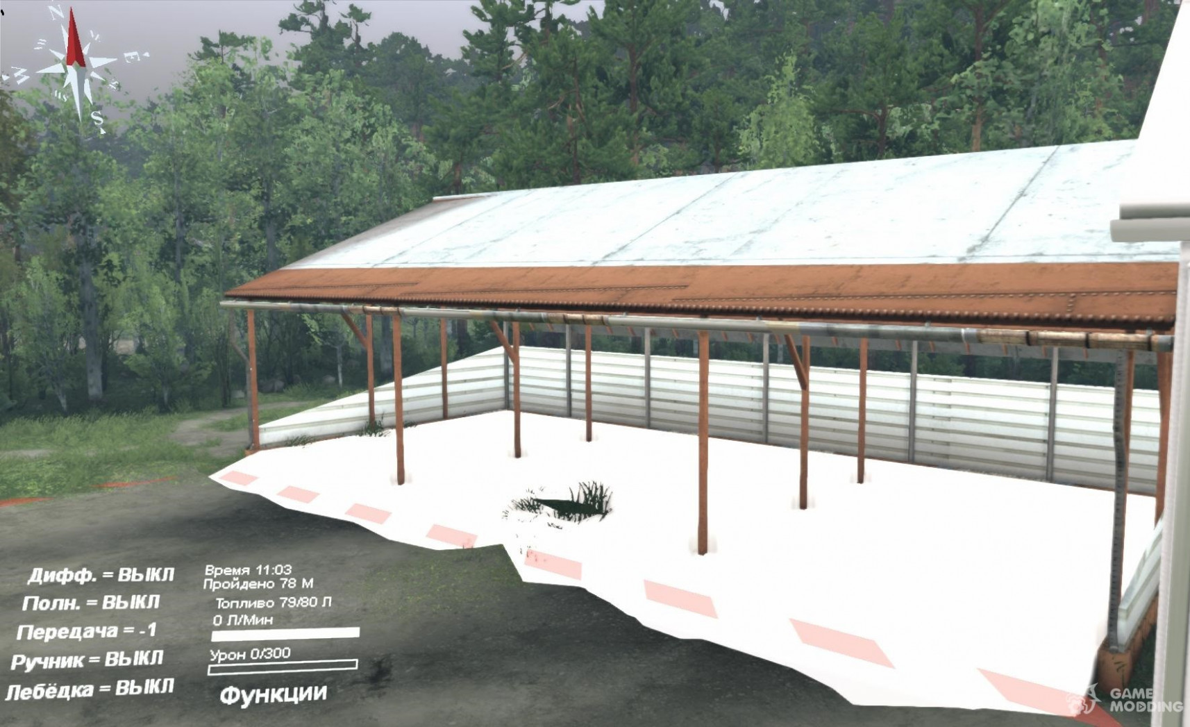 Carport Instead Of Garage For Spintires 2014 Carport Instead Of Garage