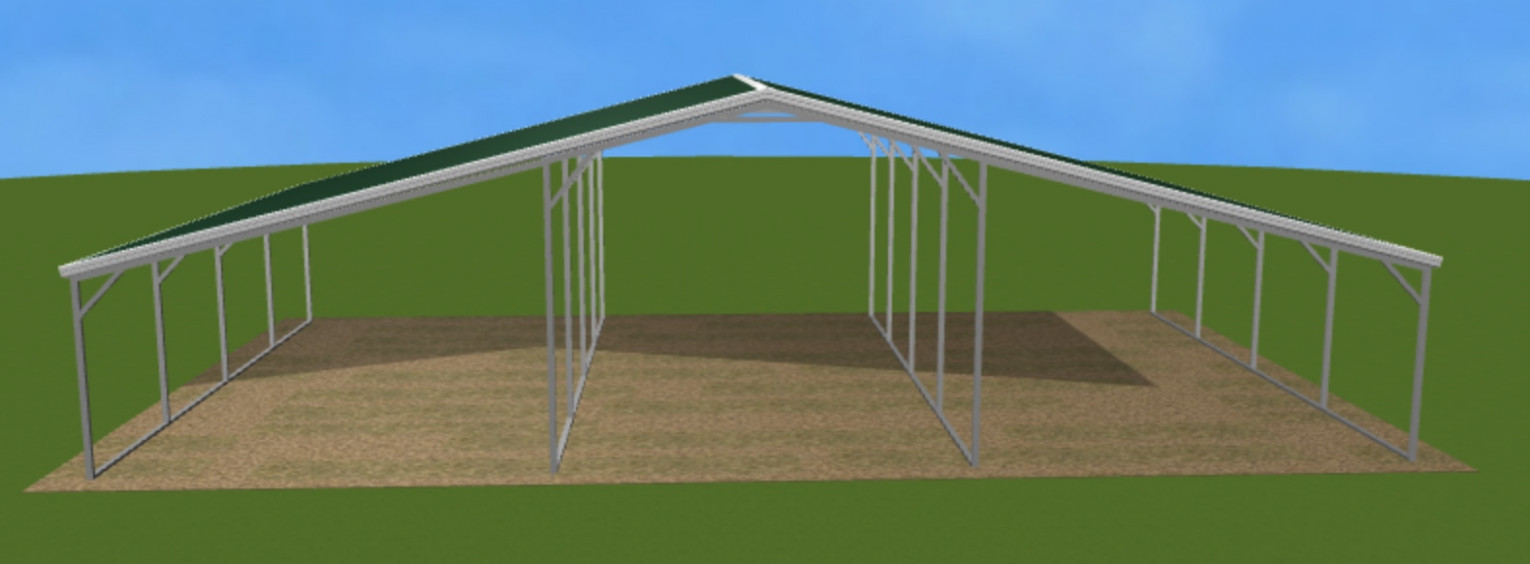 Carport+Lean To Continuous Roof 10a SunnyCal Solar Inc