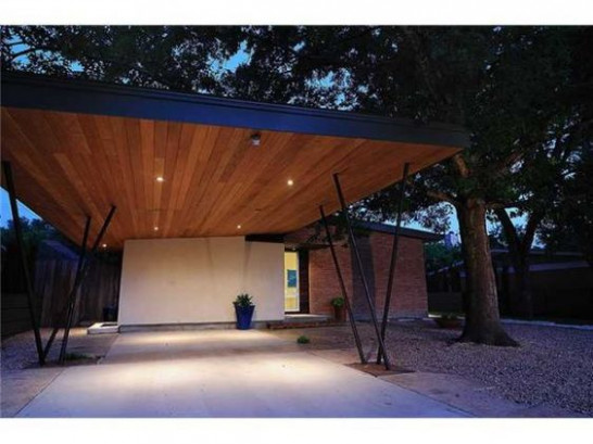 Carport. Love The Lightness And The Wood With Amber ..