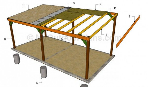 Carport Plans Free | Free Outdoor Plans DIY Shed, Wooden ..