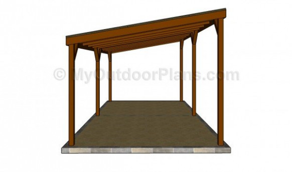 Carport Plans Free | MyOutdoorPlans | Free Woodworking ..