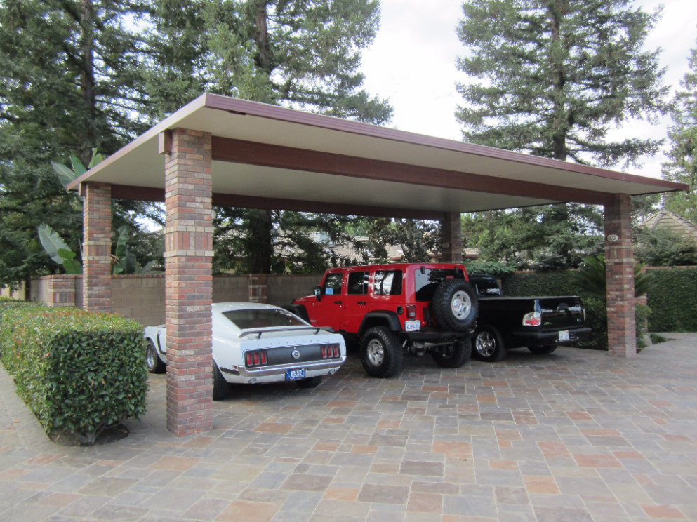 Carport, RV & Equipment Canopy Photos – Americal Awning