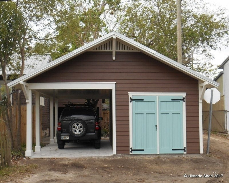 Carport Shed | Historic Shed | Florida