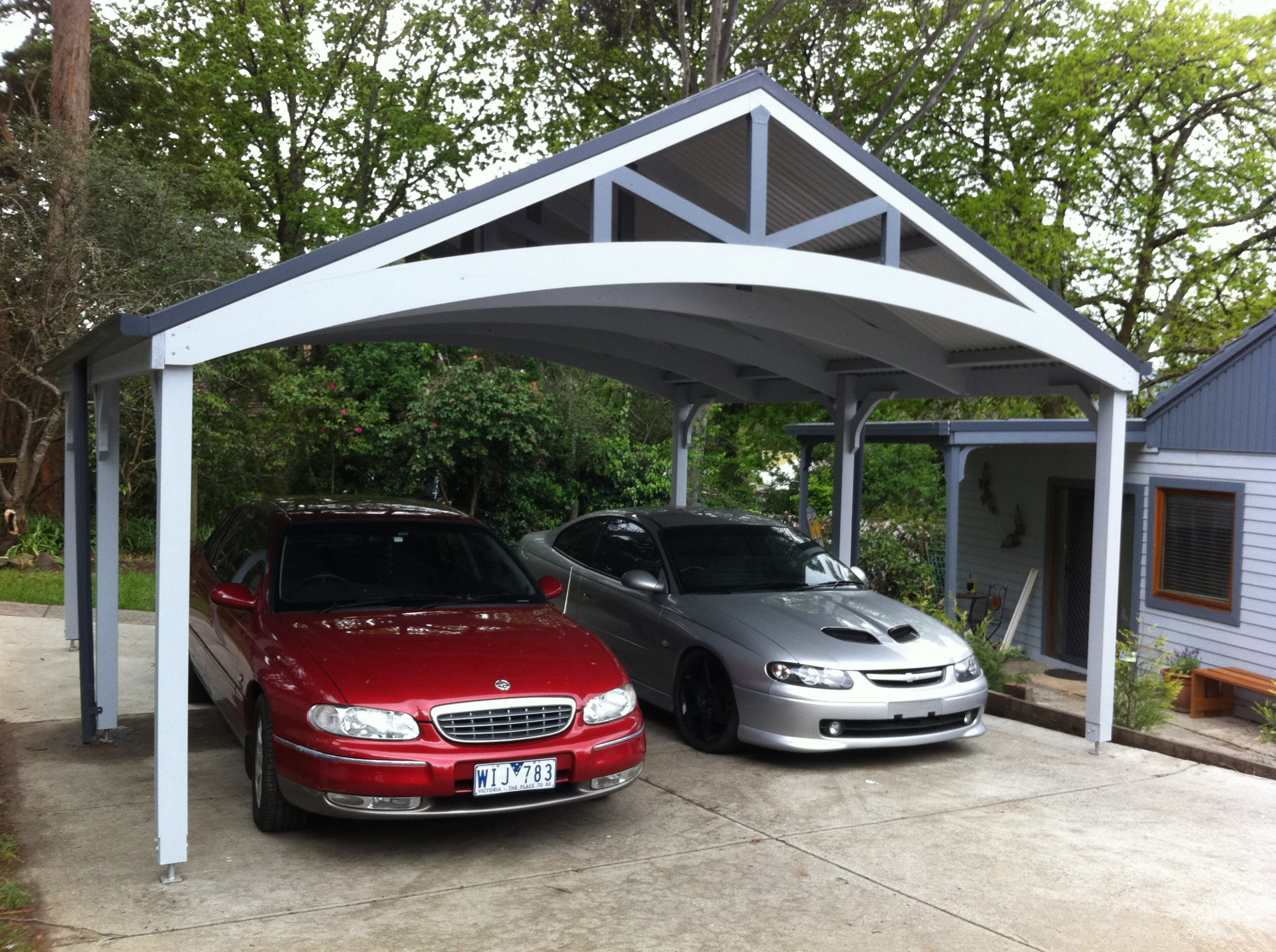 Carport | Timber Carports Carport Roof Over