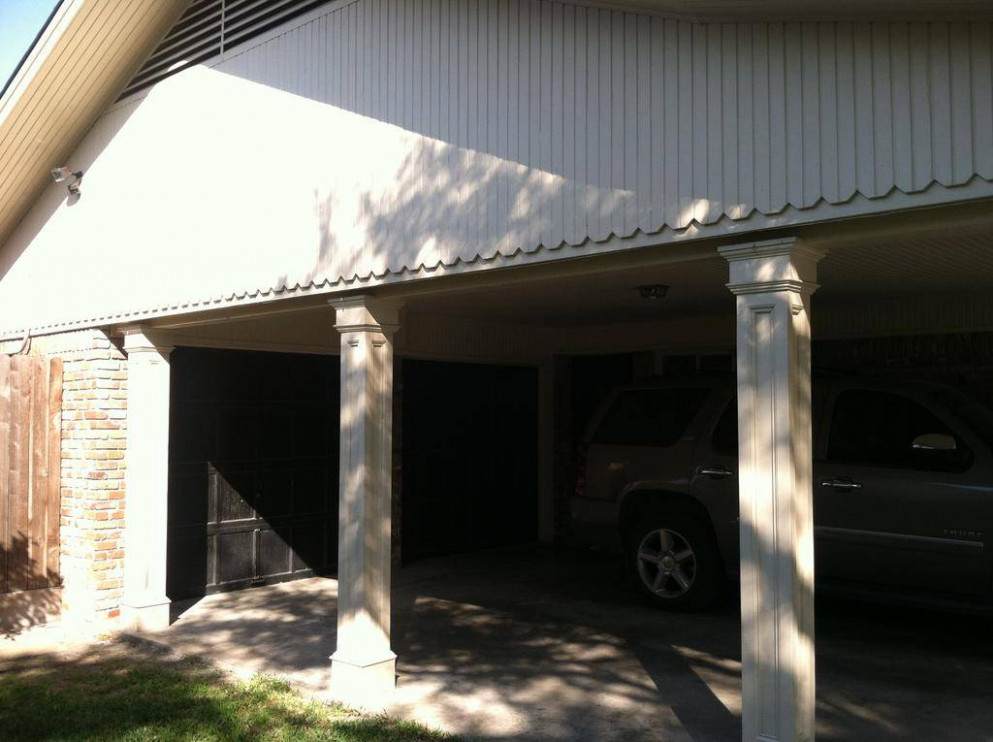 Carport to Garage Conversion ~ Everhart Construction