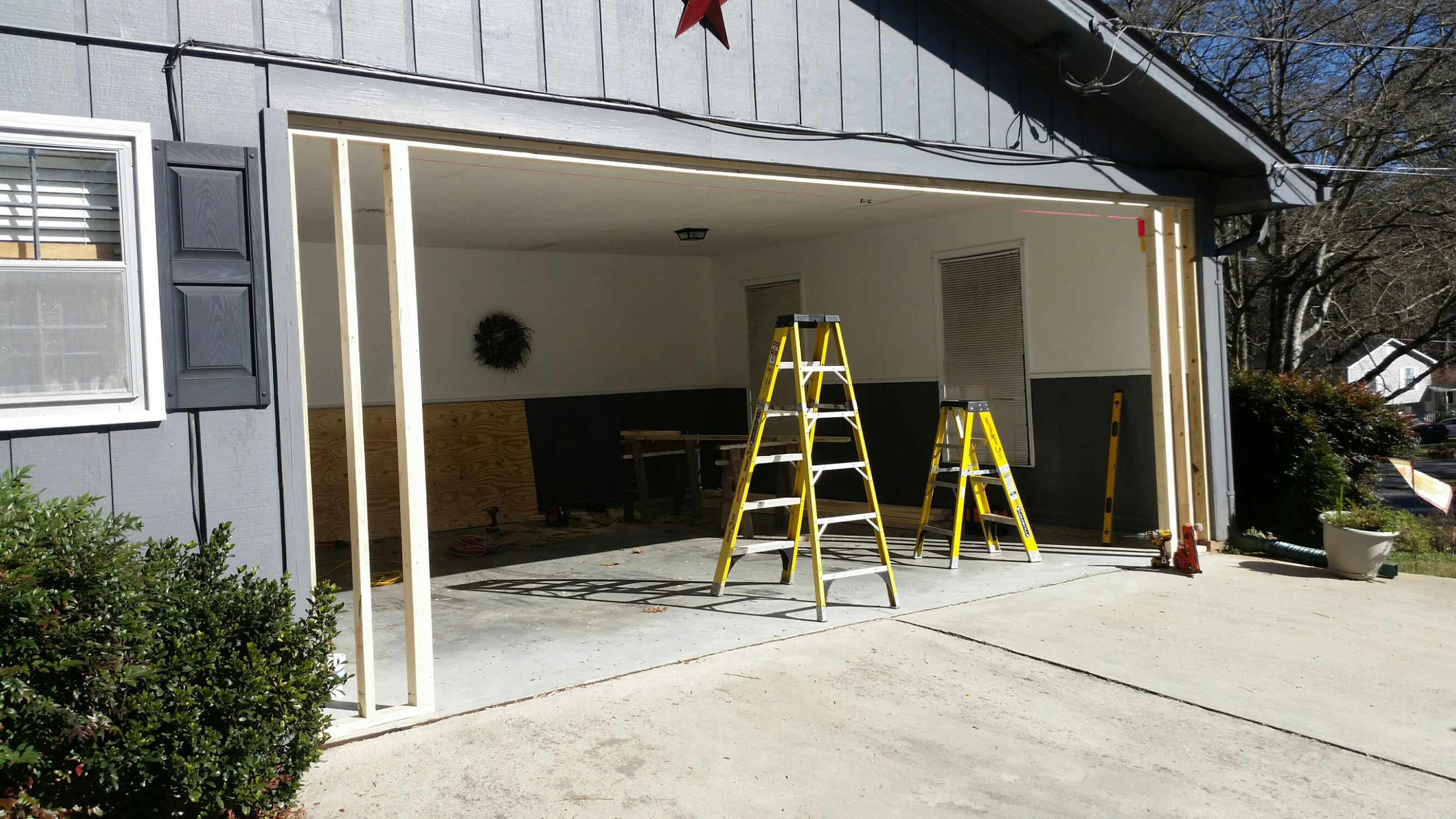Carport to Garage Conversion | Overhead Door of Georgia