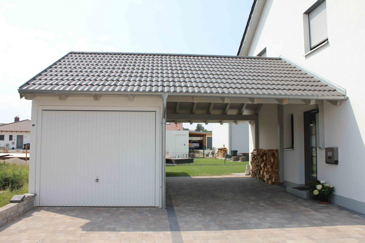 Carport Und Garage. Awesome Carport Und Garage With Carport ..