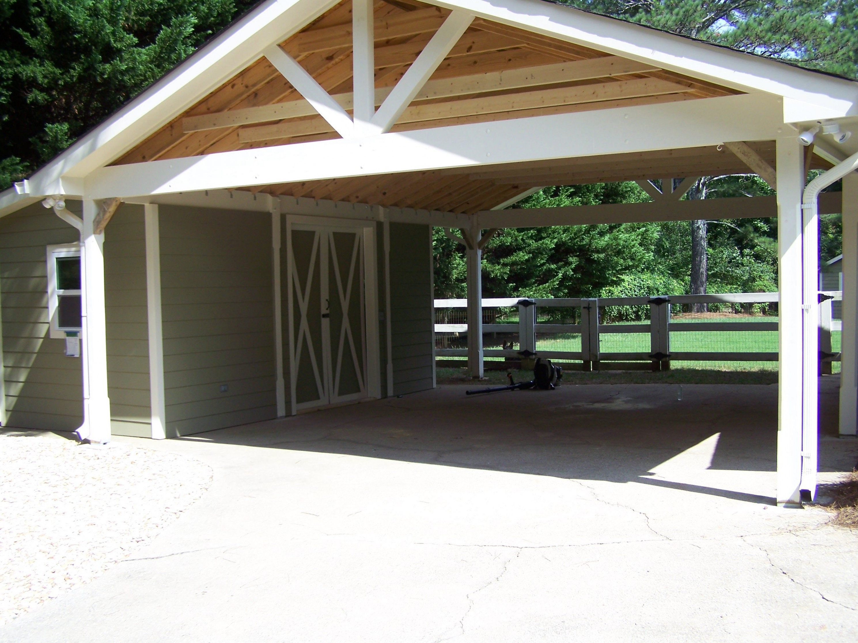 Carport With Attached Building | Sullivan Custom Renovations ..