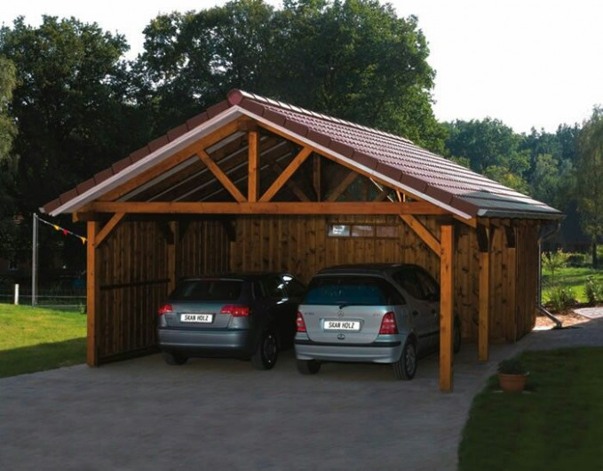 Carport With Attached Storage | Sheds, Shops, Carports And ..