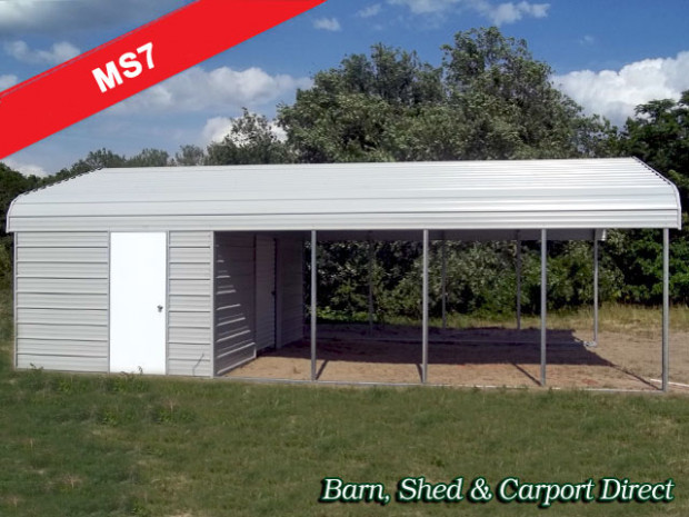Carport With Storage Shed Attached | citizenhunter.com