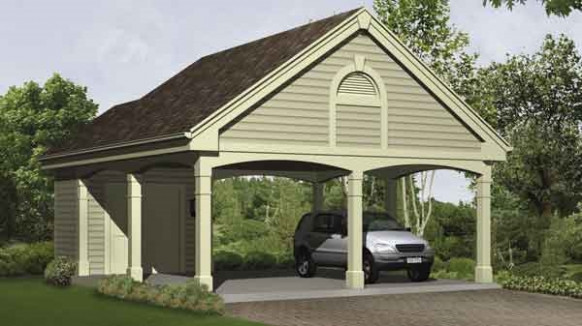 Carports – An Easy Way To Protect Our Vehicles Attached Wooden Carports