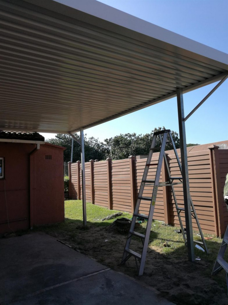 Carports And Awnings Carport Awning Lloydton Metal Kaliman ..