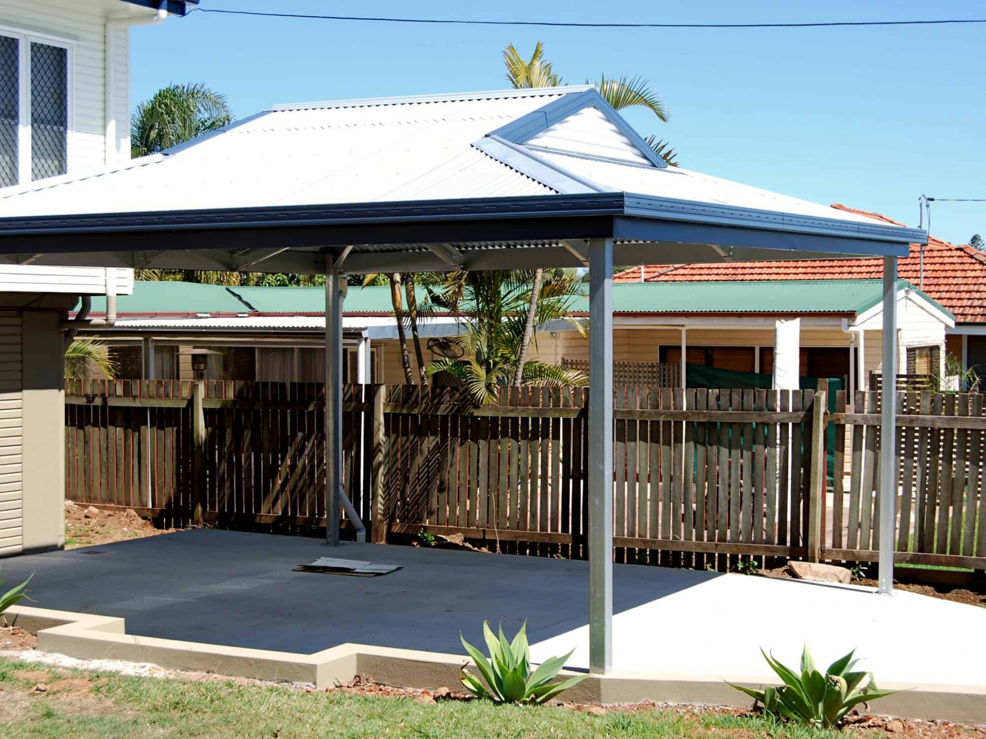 Carports | Any Size, Any Style | Carport Kits Or Installed Hip Roof Metal Carports