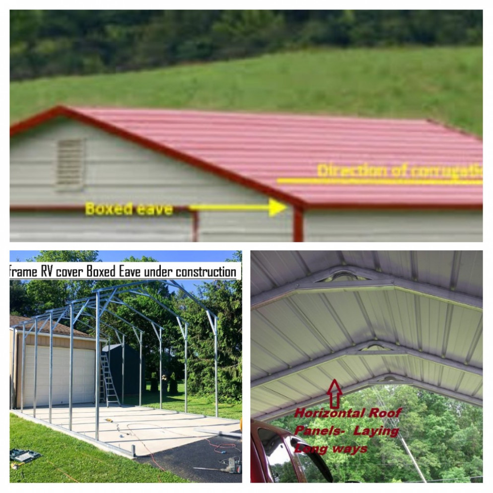 Carports – Better Metal Buildings Carports With Metal Roofs
