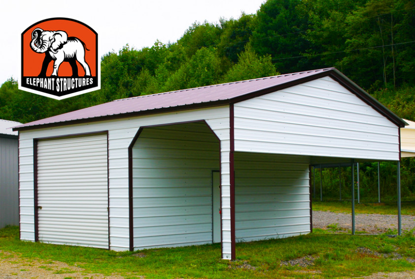 Carports Can Have Two Uses At OnceMetal Shelters Elephant Carport Garage