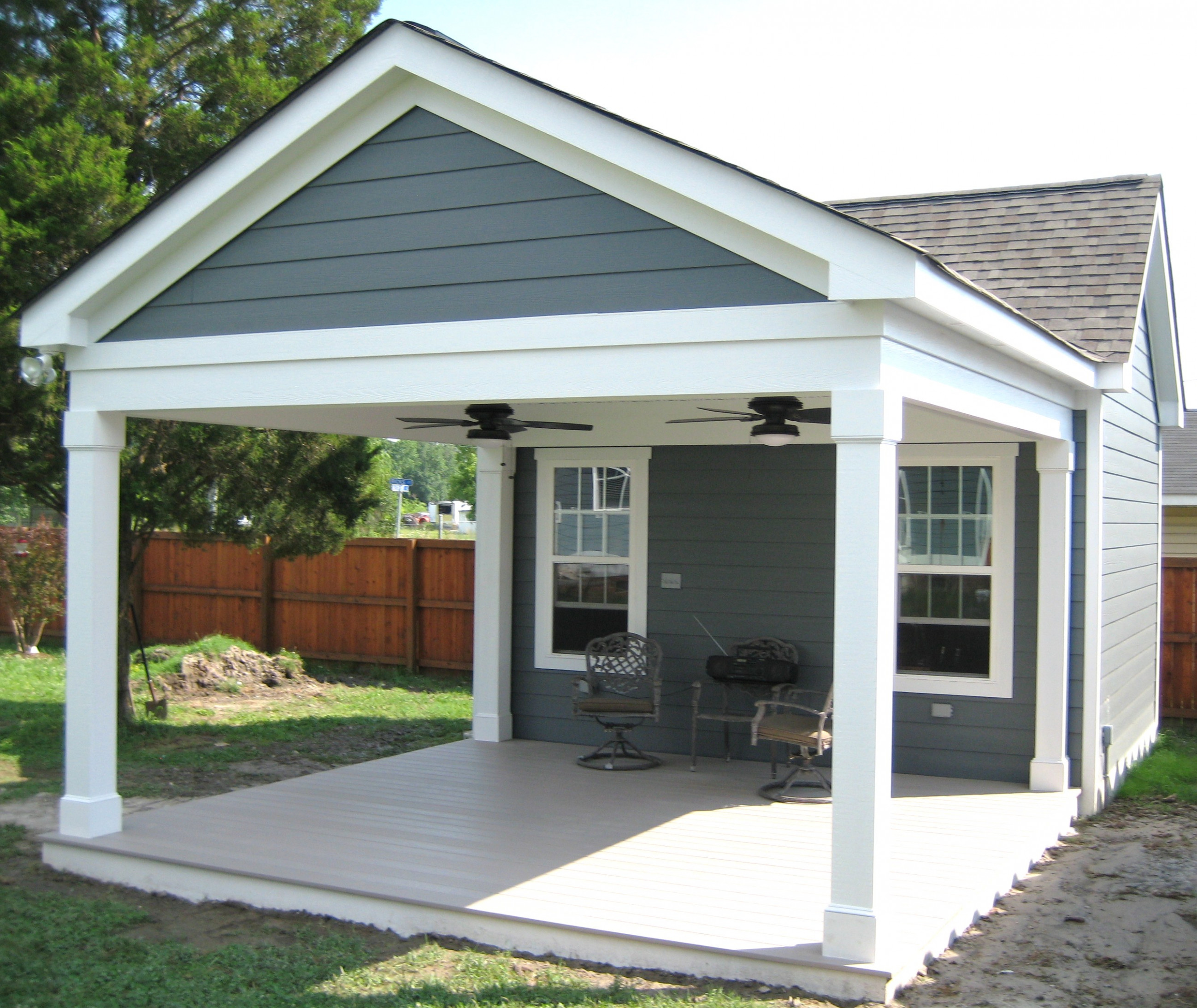 Carports Custom Design Car Garage With Carport Plans ...