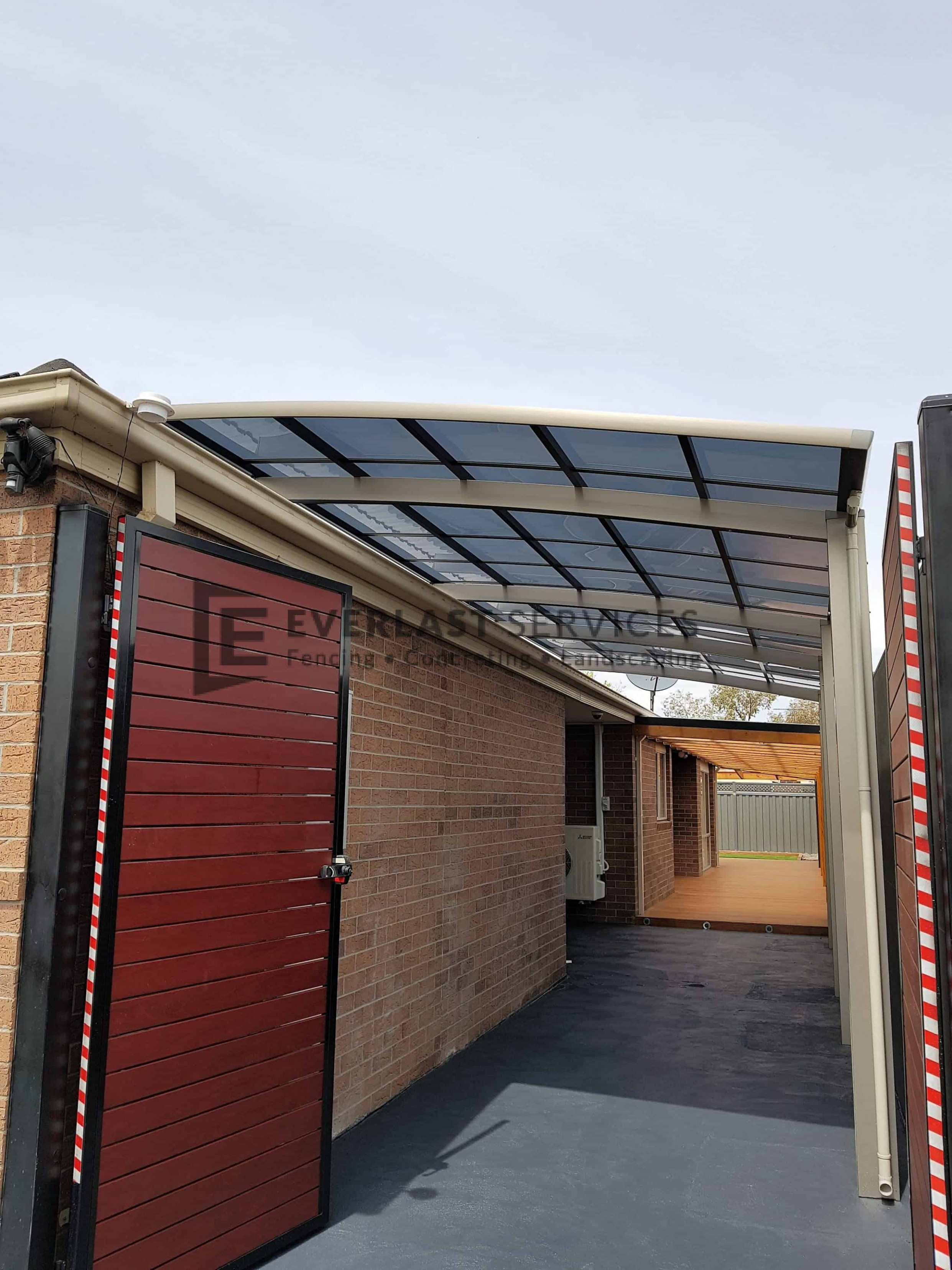 Carports Gallery Everlast Services Wooden Cantilever Carport