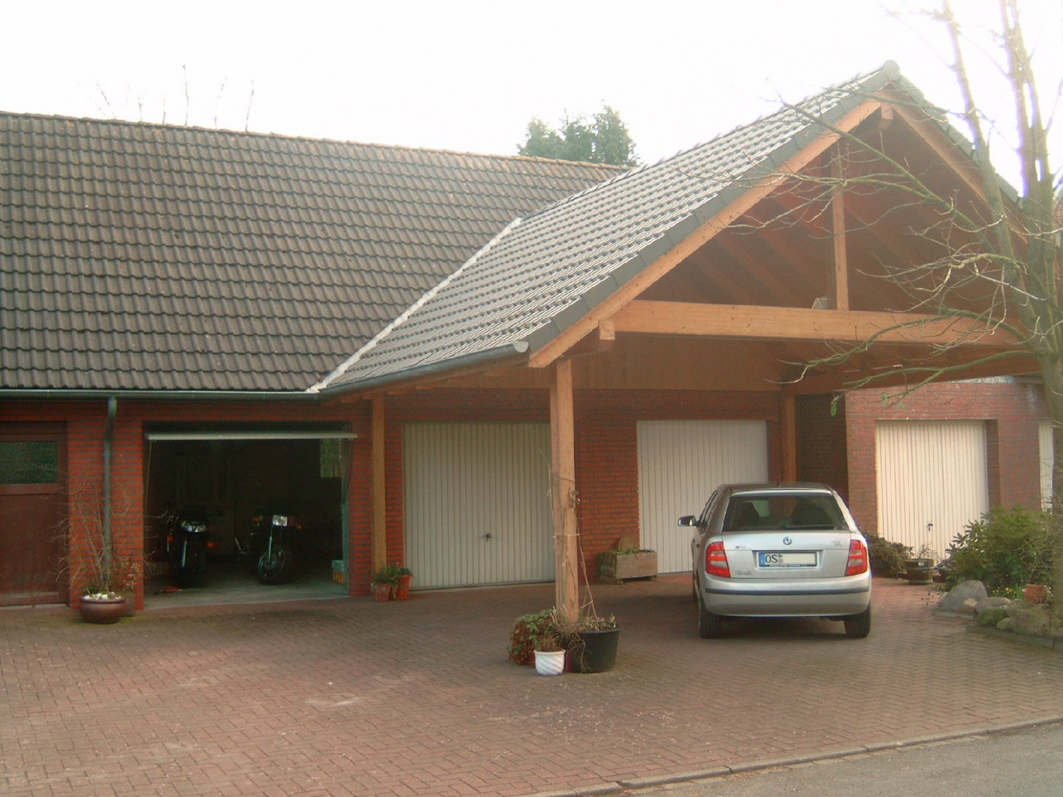 Carports Garages Alfa Construct Single Slope Carport Kombination Carport Garage