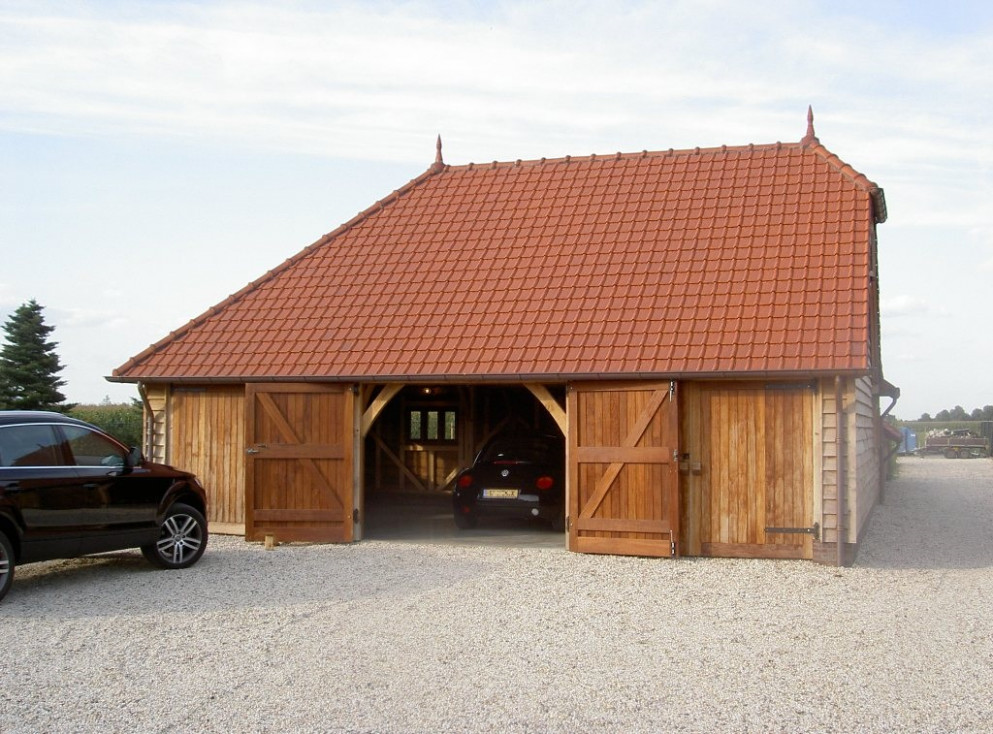 Carport Garage Eiken