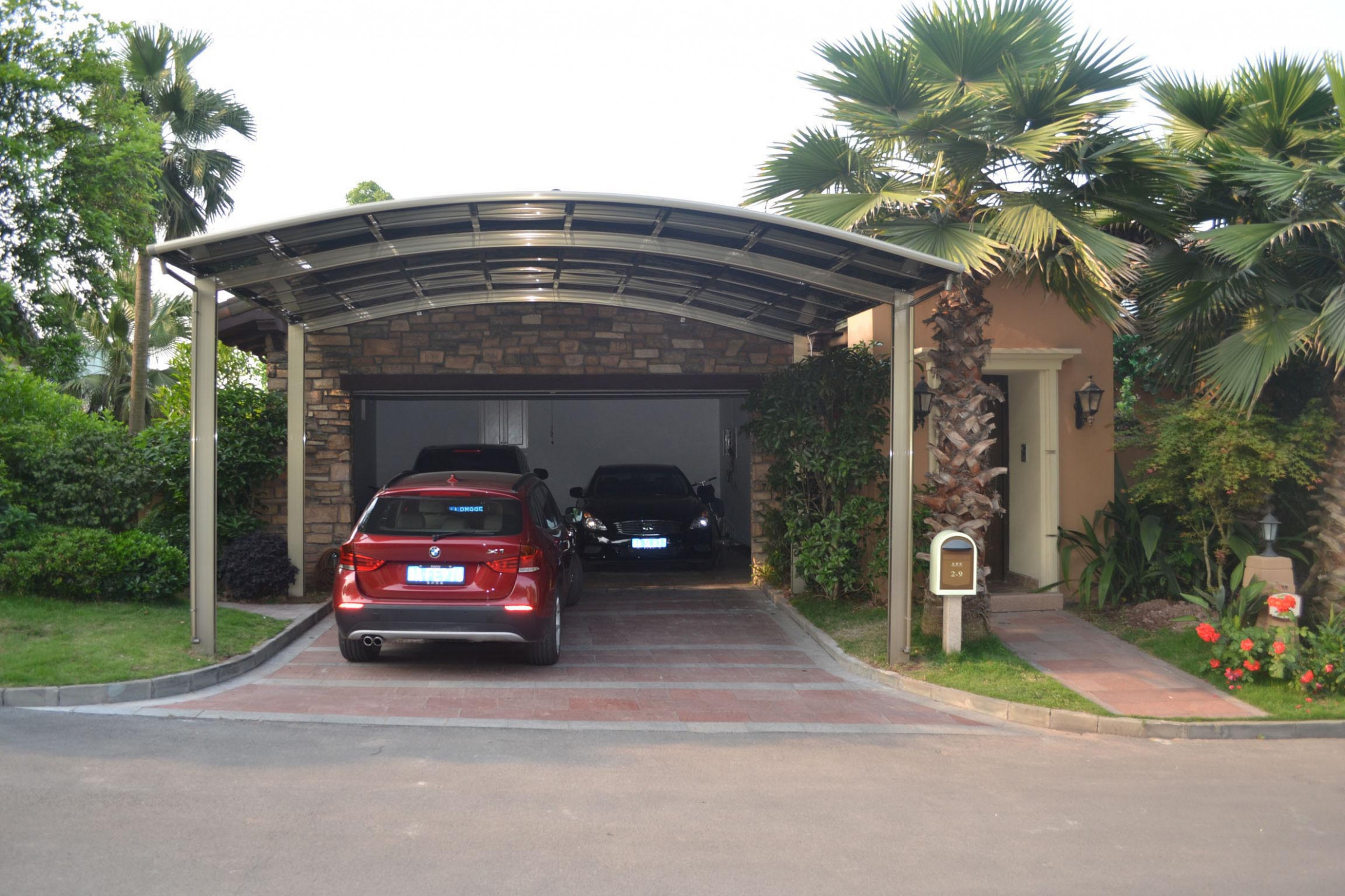 Carports In Front Of Garage Example Garage Door Repair ..
