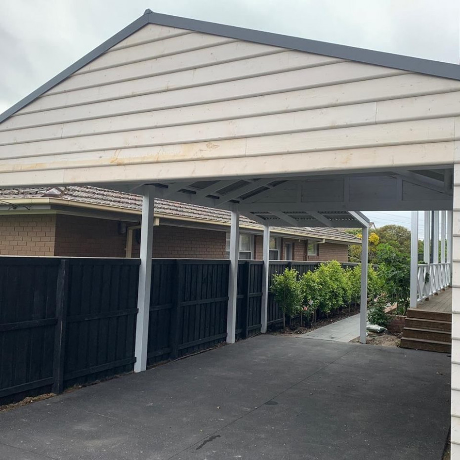 Carports Melbourne | Prestige Decks And Pergolas Gable Roof Carports
