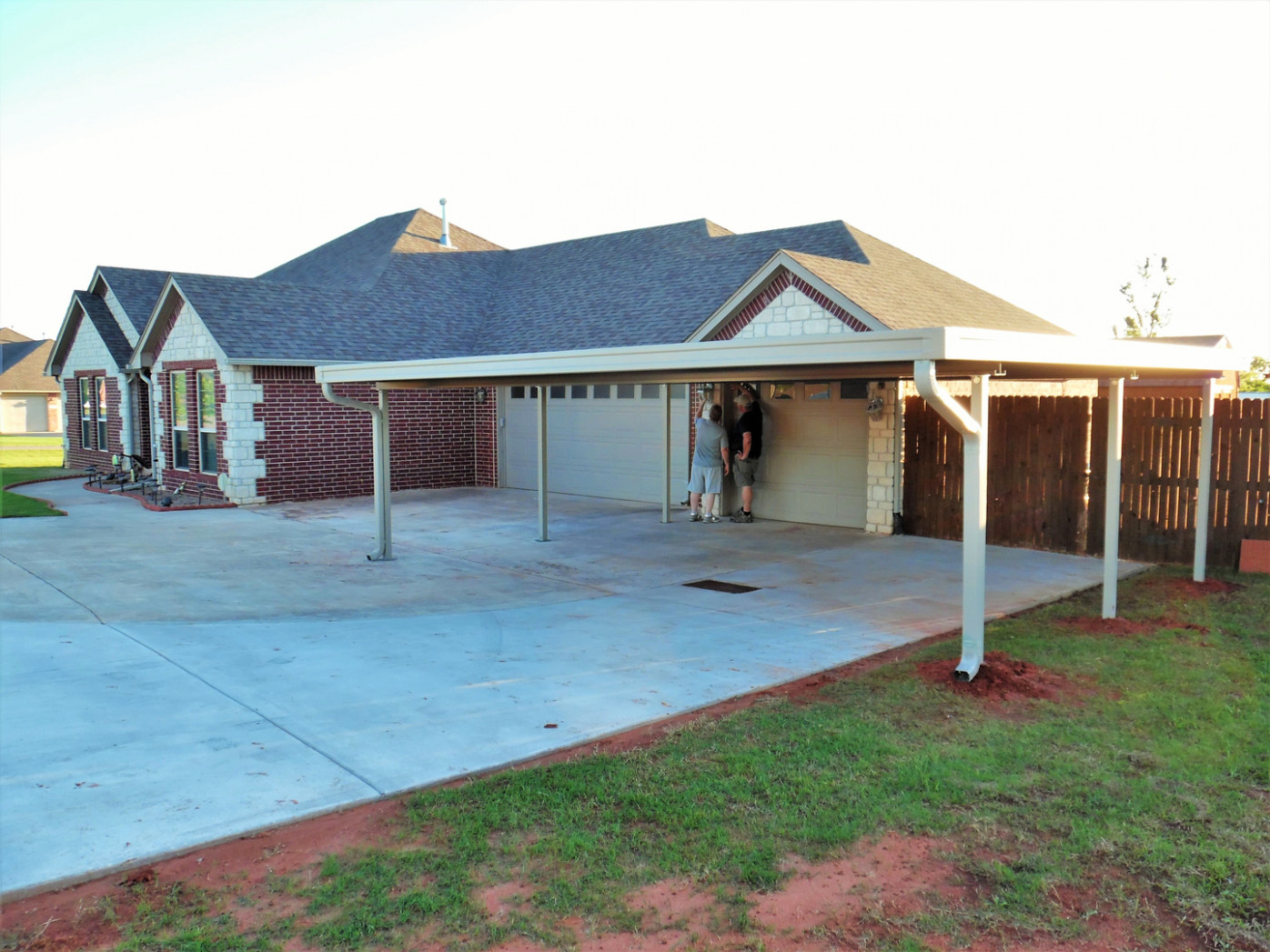 Carports Of Oklahoma Home Page Welcome Attached Wooden Carport Designs