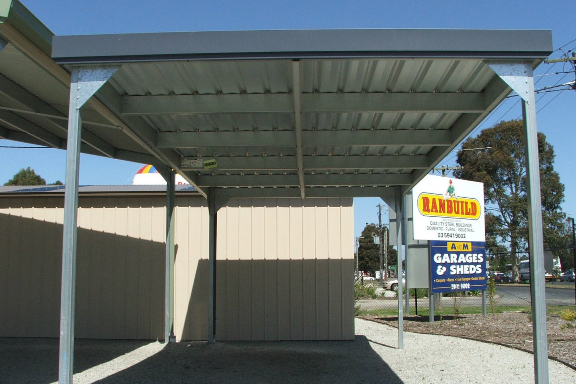 Carports Sheds And Garages For Sale Ranbuild Carports For Roof