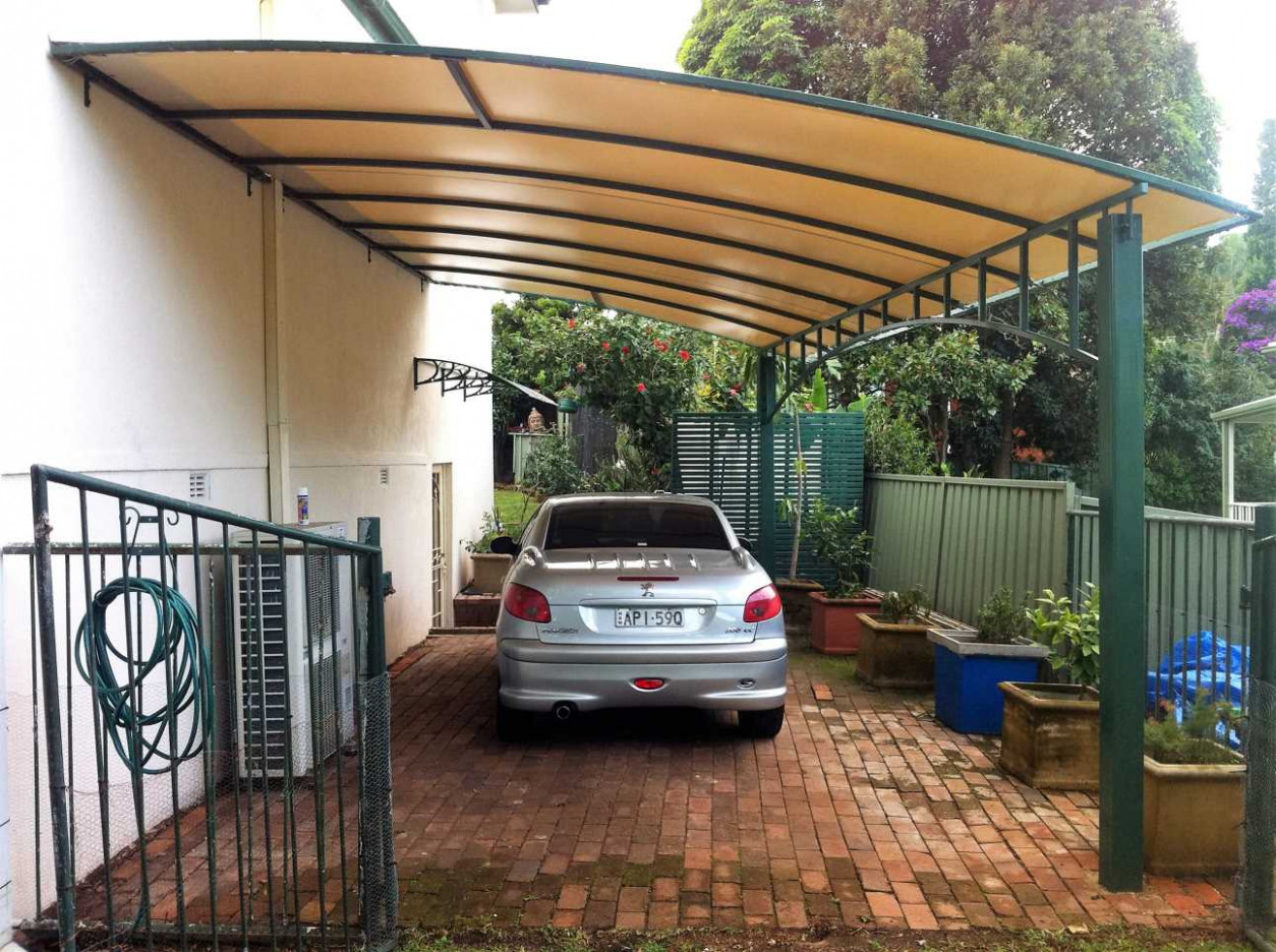 Carports & Shelters In Sydney | Pioneer Shade Structures Modern Cantilever Carports