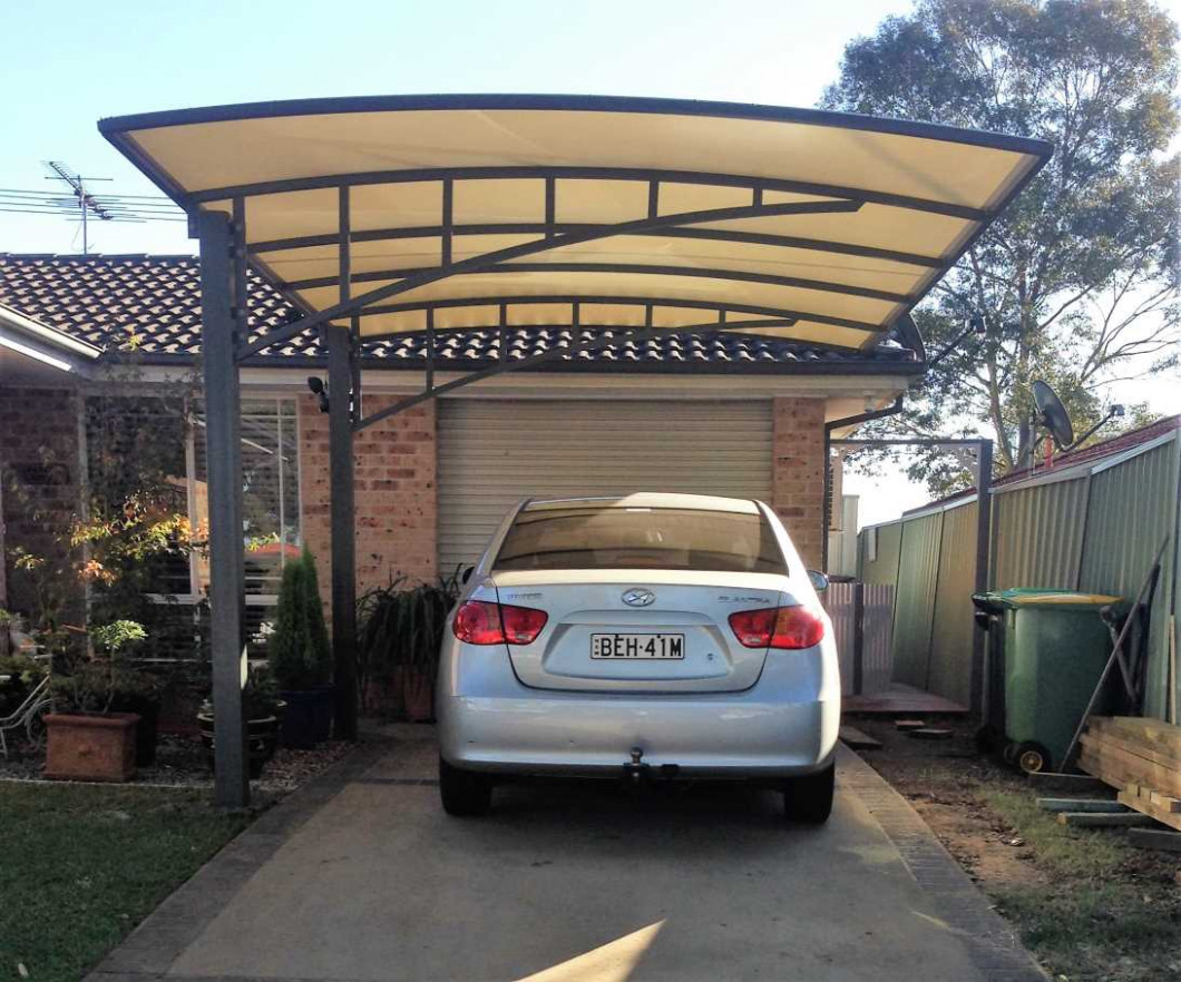 Carports & Shelters In Sydney | Pioneer Shade Structures Single Carport Ideas