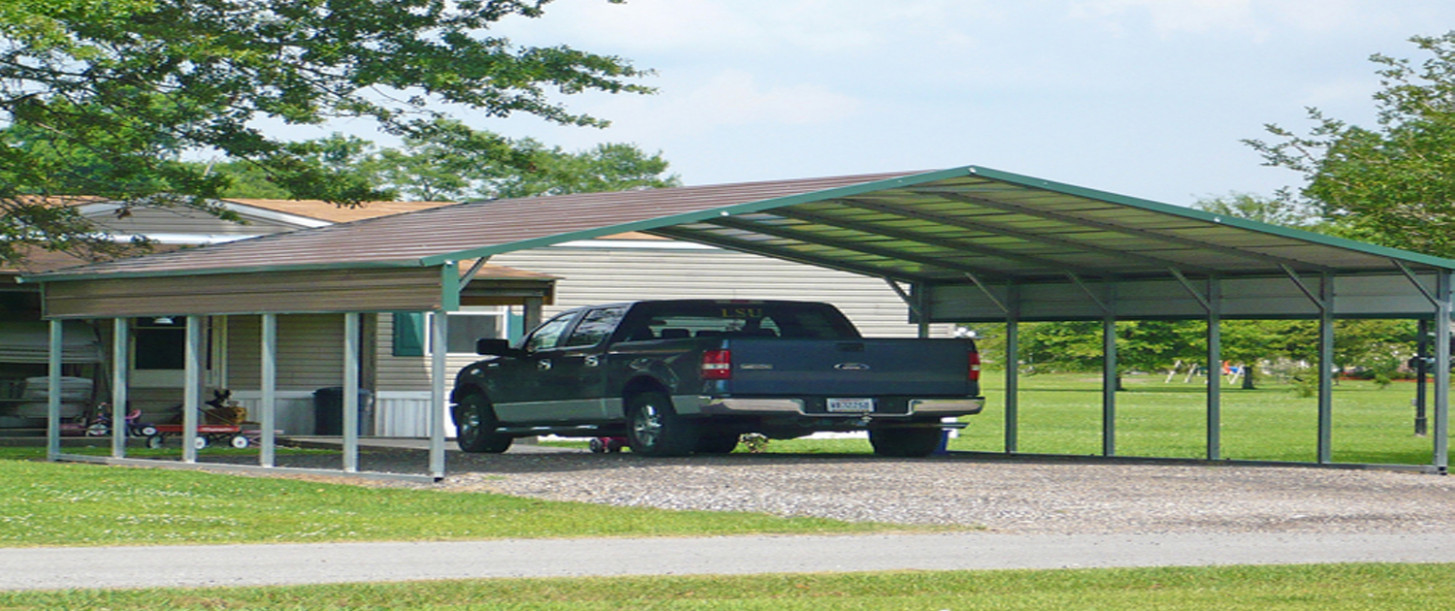 Carports | Superior Outdoor Structures Carports Parking Permit
