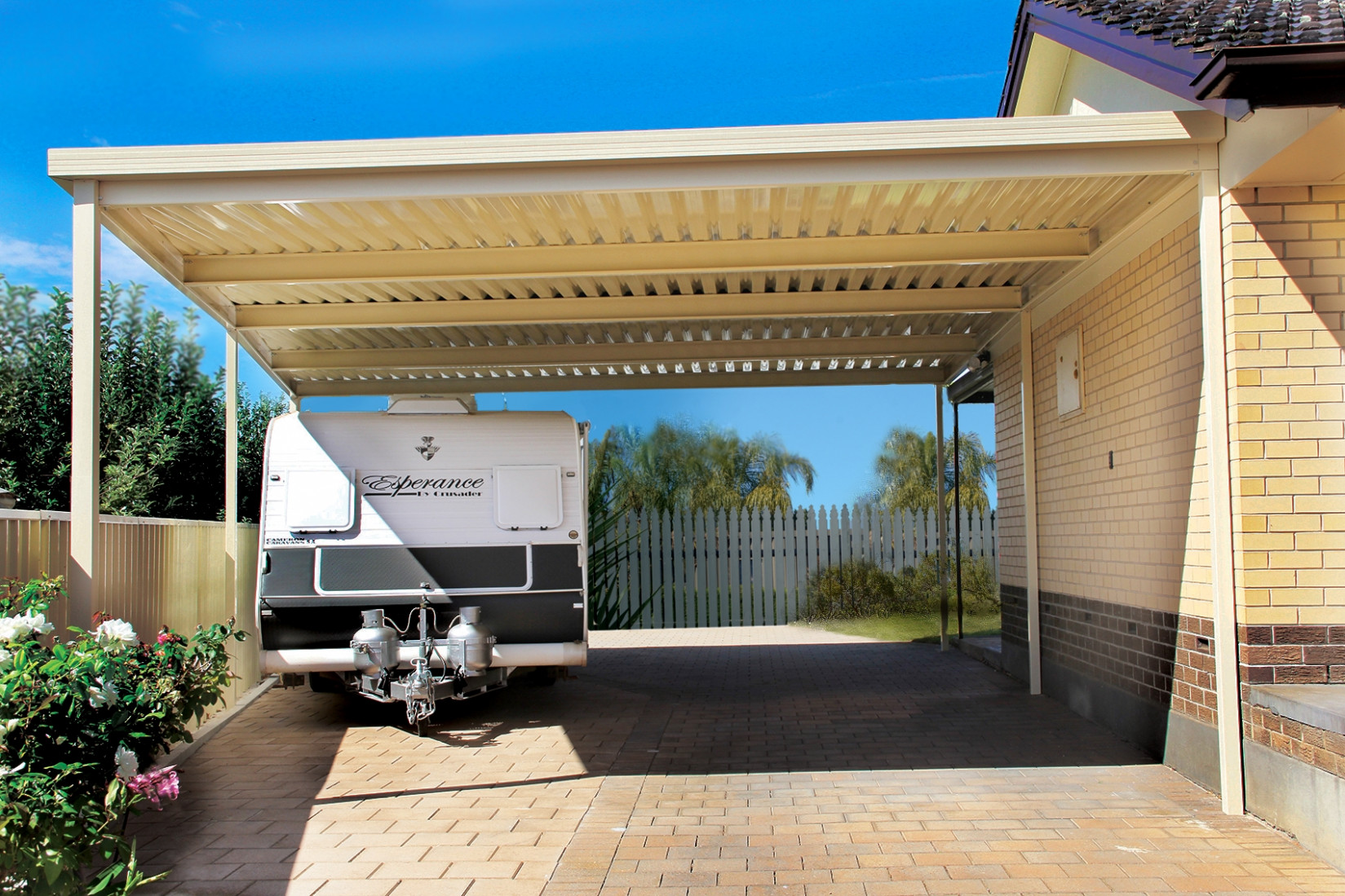 Carports & Verandahs Adelaide Olympic Industries Modern Attached Carport