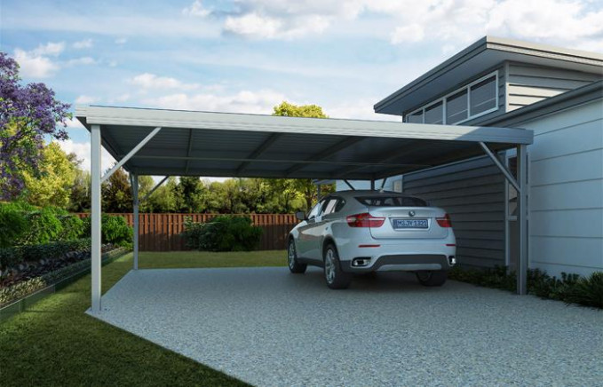 Carports View Sizes & Prices Phone 7 Days: 1300 94 33 77 Flat Roof Carports