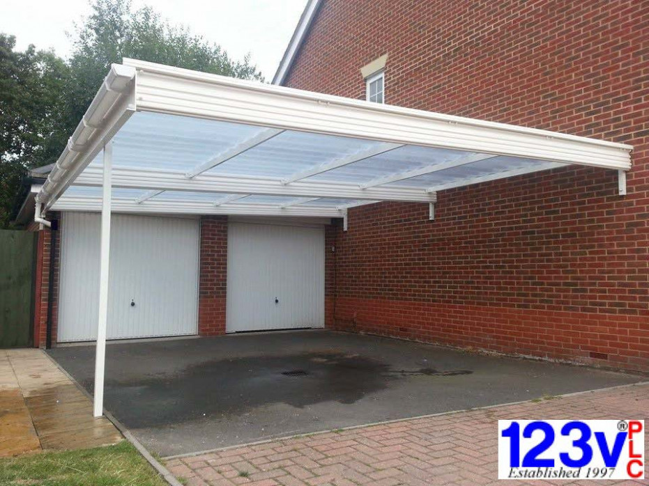 Carports, Which Trusted Trader, Fitted UK Wide | 123v Plc Double Garage With Carport