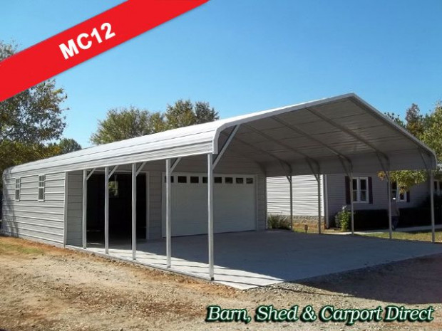 Carports with storage are just as easy for us to design as ...