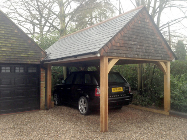 Cart Lodge And Garage Construction Classic Suffolk ..